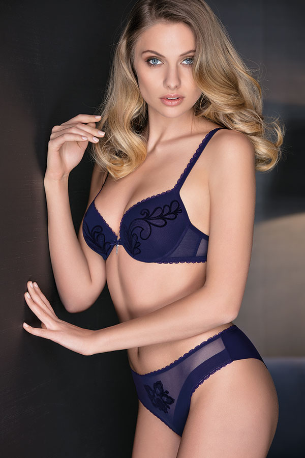 Leilieve Collezione Hot edition Fall winter 2017/18: Balconcino coppa graduata M7110/Bra with graduated cup - Brasiliana M7510 - Brazilian Panty
