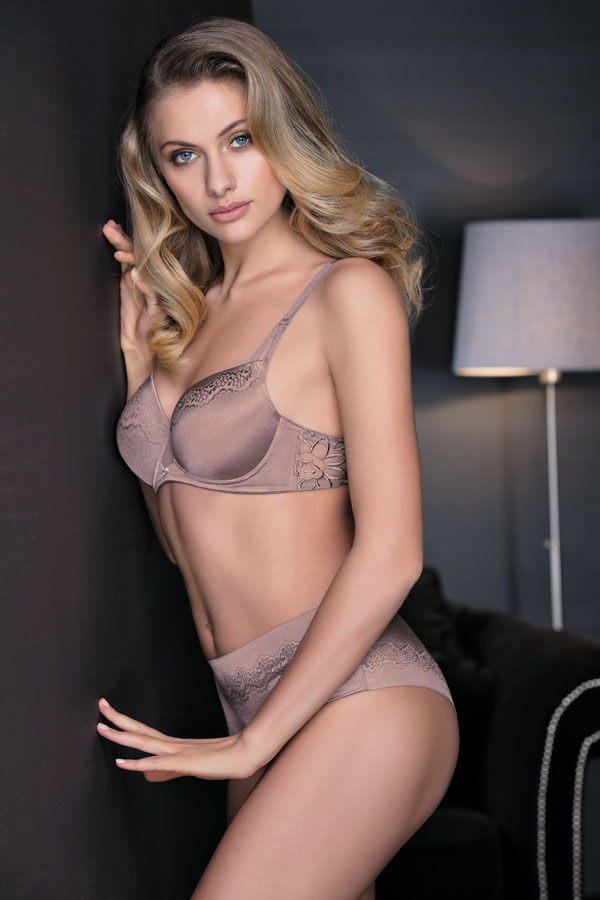 Leilieve Collezione My Way Fall Winter 2017/18: Balconcino coppa graduata M7412/Bra with graduated cup - Slip M7212