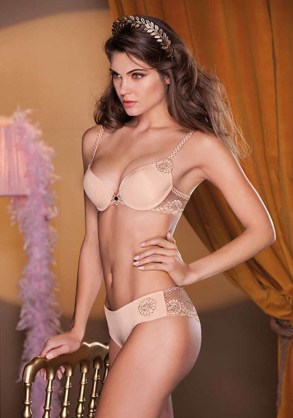 33aaf7fb0 Collection Italian Style - Bra with graduated cod. 5416 - Brazilian panty -  Leilieve - Women Underwear Made in Italy since 1961