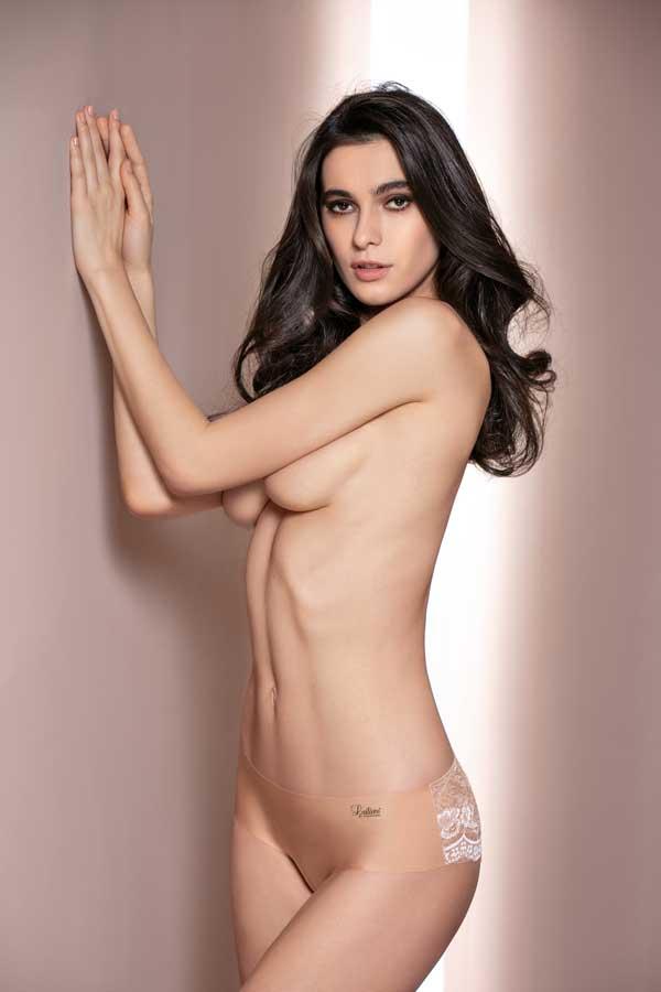 Culotte Tg 1/5 Colori: Bianco/Nero/Nudo Cod. 3394