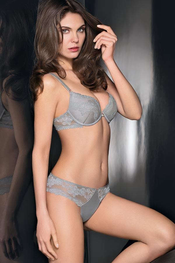 Privilege collection: M8108 Bra with graduated cup - M8508 Brazilian Panty