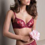 Lovely Rose: Reggiseno a Balconcino con coppa preformata e Slip
